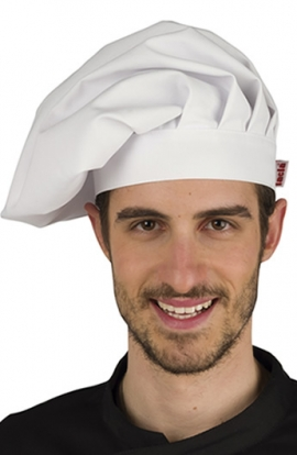 GORRO CHEF BLANCO