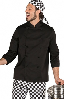 Chaqueta Chef manga larga